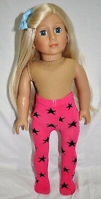 """American Girl Doll Our Generation Journey 18"""" Dolls Clothes Doll Tights Stars"""
