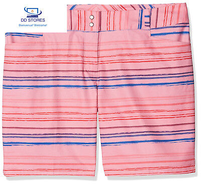 'Adidas 7 Printed Painted Stripe Short de golf, femme