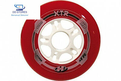 Hyper roues pour rollers xTR Multicolore (rouge / blanc)taille 80 72153