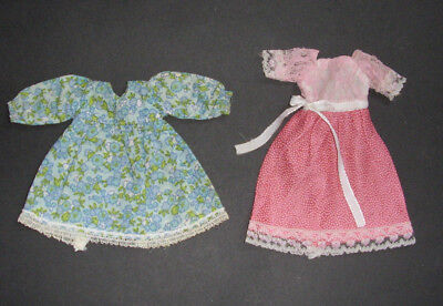Sindy doll dresses x 2 Summer Smock and Happy Days - 1974-75