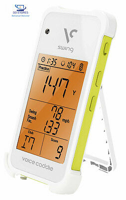 Swing Caddie Launch Monitor SC100 White White