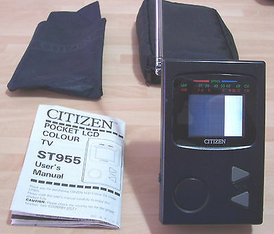 Faulty Citizen St955 Pocket Lcd Tv