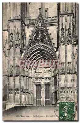 CPA Bourges Cathedrale