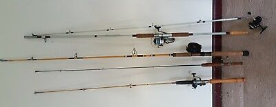 Vintage Retro Fishing Rods and Reels