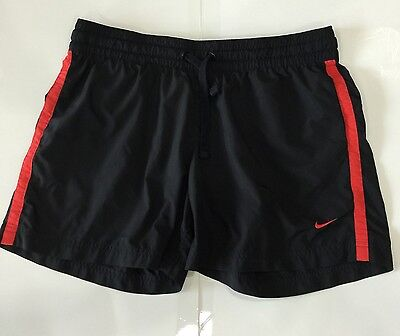 Nice Women's Dri-Fit Nike Black & Red Tempo Running Shorts (M) Medium