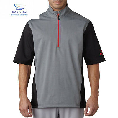 Adidas Climaproof Heathered Rain Veste de manches courtes de Golf