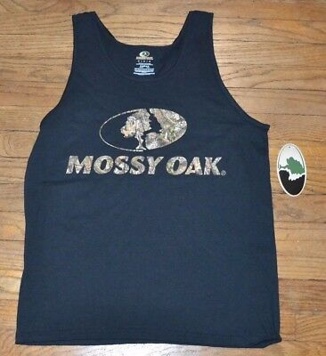 8a6d4e6423b382 Mossy Oak Country Mens Tank Top Officially Licensed Sleeveless T-Shirt Logo  Tee