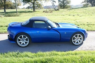 Low Mileage! TVR Chimaera Starfire Mica Blue 32k New outriggers, leather, hood