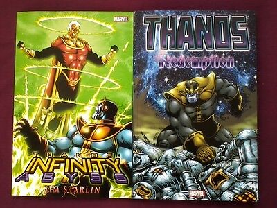 Thanos TPB NM Infinity Abyss / Redemption (2013) Marvel Comics