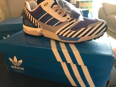 ADIDAS MICROPACER silver 1984 Size? exclusive from 2012 new