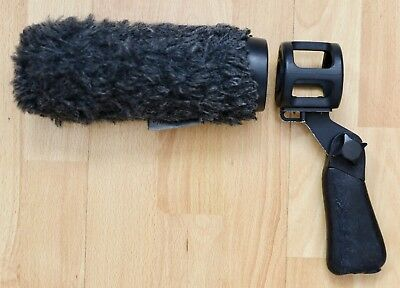 Rycote Softie Windshield Lyre Mount with Pistol Grip Handle 19/25mm