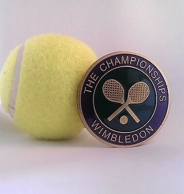 Wimbledon The Championships Coin Limited Edition Tennis Medallion,Badge
