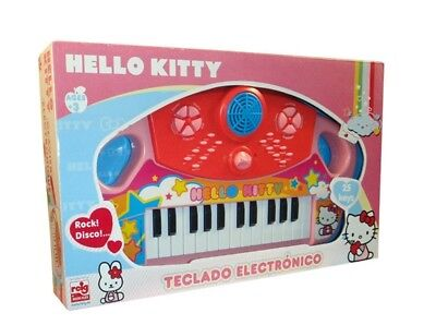 Reig Hello Kitty 25-Key Electric Keyboard. Free Delivery
