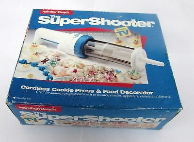 Hamilton Beach  Super Shooter Cordless Cookie Press & Food Decorator 80000