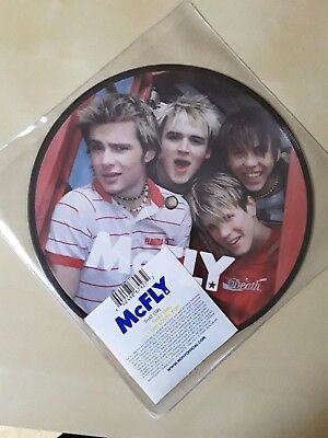 """McFly That Girl 7"""" Vinyl Picture Disc"""