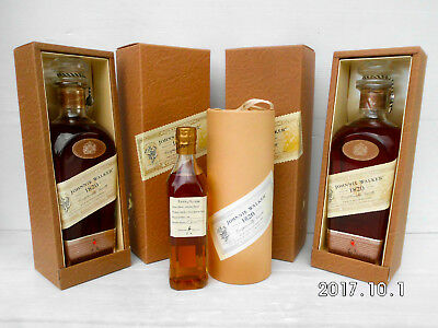 Johnnie Walker 1820 Special Tasters Sample 200Ml Complete With Canister Box!!