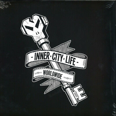 """Goldie - Inner City Life 12"""" vinyl silver limited (burial/rebuild mix) sealed"""