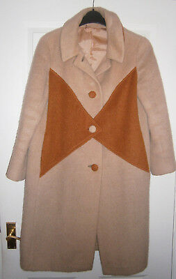 Ladies Vintage Coat CashmereTailor Made by Sidwalls of Carnaby St (1960's)