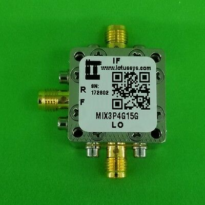 MIXER 3.4 GHz to 15 GHz RF and DC - 4G IF (Passive)
