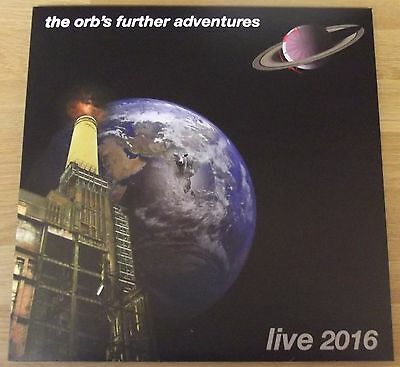 The Orb – The Orb's Further Adventures Live 2016 - 3xLP blue vinyl - new - KLF