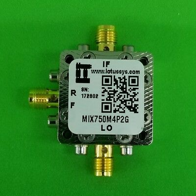 MIXER 750 MHz to 4.2 GHz RF and DC - 1.5 GHz IF (Passive)