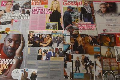 KATE WINSLET Idris Elba *Magazine Clippings*The Mountain Between Us*