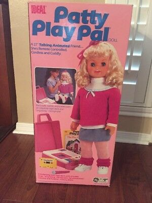 Ideal Patty Play Pal Talking Doll 1987