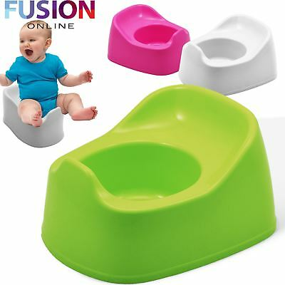 Kids Potty Seat Toddler Baby Child Plastic Potty Toilet Trainer Training Seat