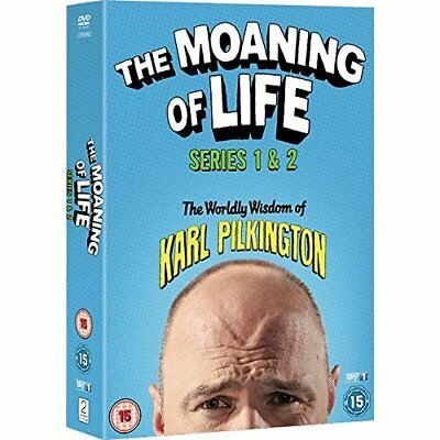 Karl Pilkington The Moaning of Life Series 1-2 DVD Boxset New Sealed