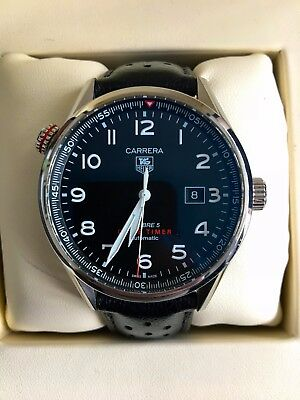 Tag Heuer Calibre 5 Drive Timer automatic WAR2A10.FC6337 with box and papers