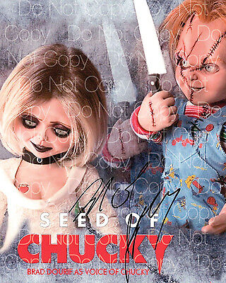 Chucky signed Brad Dourif Jennifer Tilly 8X10 photo picture poster autograph RP