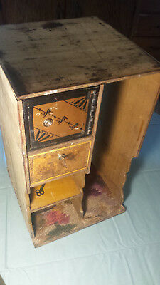 Antique Hall's Safe Co. Complete Interior with Lock Box & Drawer