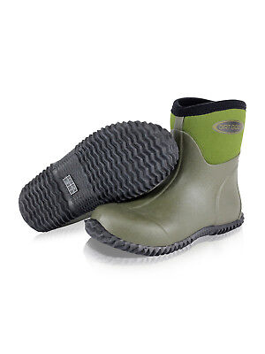 Dirt Boot Neoprene Wellington Muck Field Garden Wellies Stable Yard Ankle Bootie