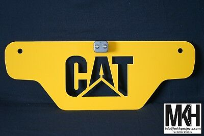 Tractor Weight / Front Tool Box Plate Sign - CAT - Caterpillar