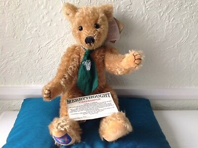 Boxed  MERRYTHOUGHT Limited Edition (Caernarfon) Growler Bear