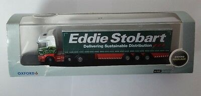 Oxford Diecast Eddie Stobart Scania Curtainsided lorry