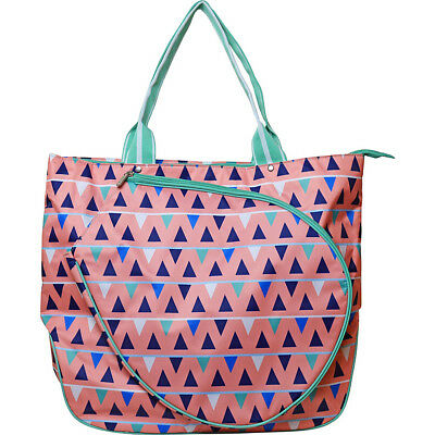 All For Color Tennis Tote - Sand Castles Racquet Bag NEW