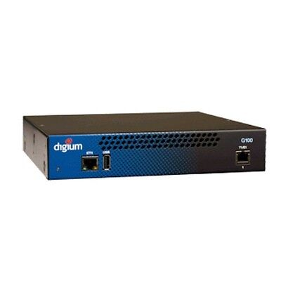 Digium 1G100F Single Span Digital T1 / E1 / PRI To Voip Gateway Appliance