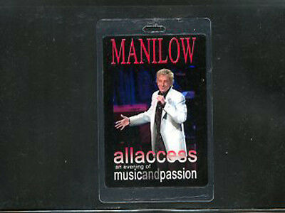 Barry Manilow 2006 - An Evening of Music and Passion - Laminate All Access