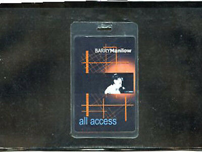 Barry Manilow - backstage pass Live 2002 Laminate All Access