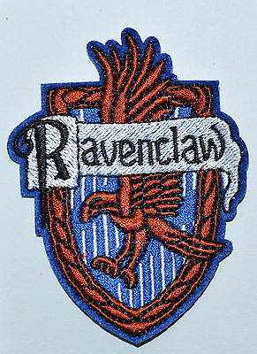 Harry House Ravenclaw embroidered Potter Iron on Patch Crest Badge
