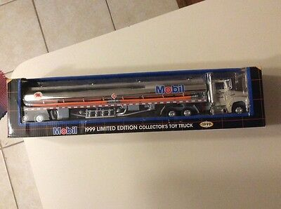 1999 Mobil Limited Edition Toy Tanker Truck MIB