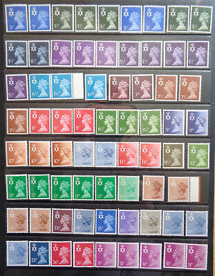 GB Regionals Northern Ireland 175  MNH - Face FV £45 approx