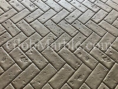 Brick Stone Stamp Mat. Brick Paver Mold  SM 4100. Stamped Concrete Brick pattern
