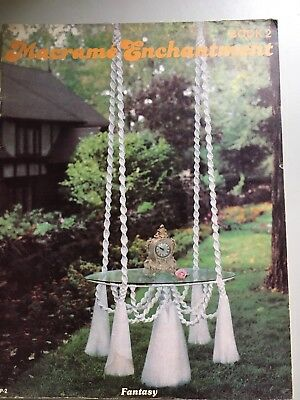 MACRAME HANGING TABLE PATTERN, Ornaments & Furniture. 20 Patterns. FREE SHIPPING