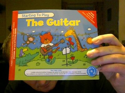 Starting To Play The Guitar Beginner's Level For Kids Perfect Xmas Gift!