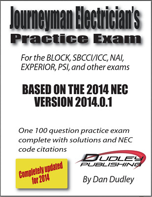 MASTER ELECTRICIAN PRACTICE Exam Based on 2011 NEC - $20.00 | PicClick