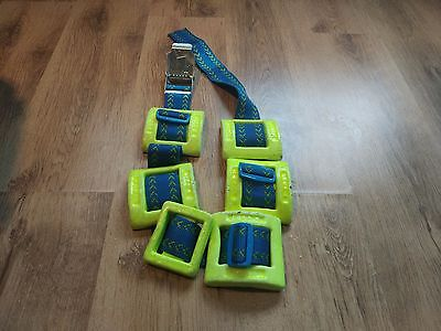 10kg plastic coated lead diving weights with belt