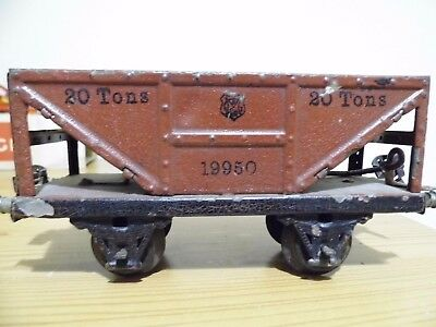 marklin o gauge not hornby working hopper truck.