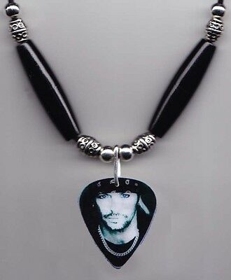 Poison Bret Michaels Signature Photo Guitar Pick Necklace - 2014 Tour